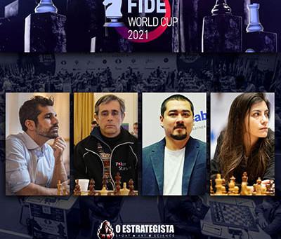 Começou a Copa do Mundo de Xadrez em Sochi, Brasil tem 4 representantes!