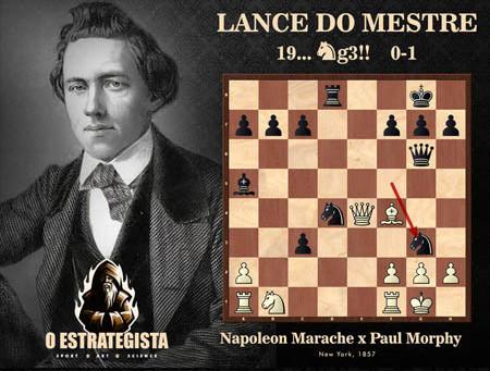 Lance do Mestre #035 - Marache x Paul Morphy