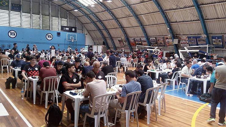 O ginásio recebeu as competições da Terceira e Segunda Categoria