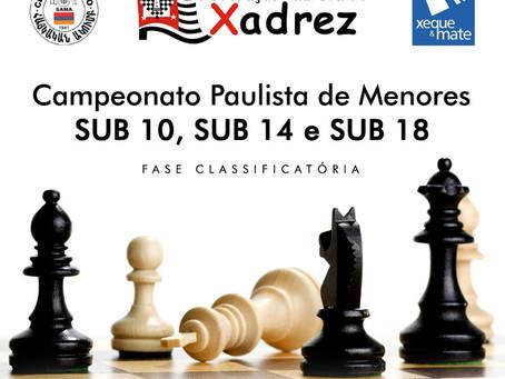 Campeonato Paulista de Menores sub10, sub14 e sub18