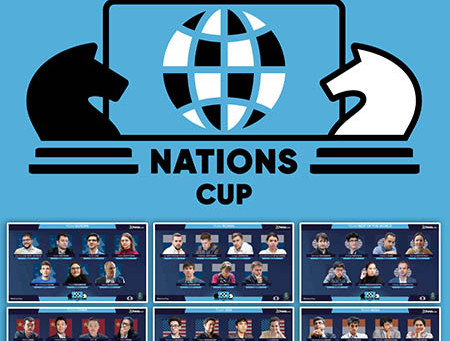 FIDE Chess.com Online Nations Cup movimenta a elite do xadrez mundial