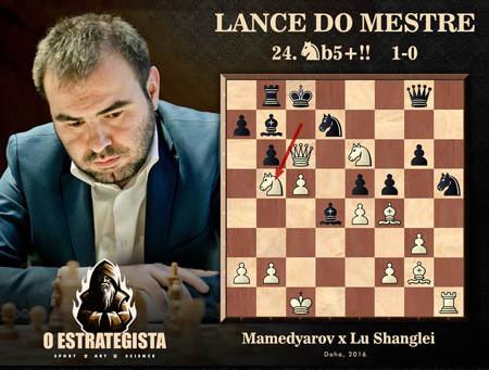 Lance do Mestre #038 - Mamedyarov x Lu Shanglei