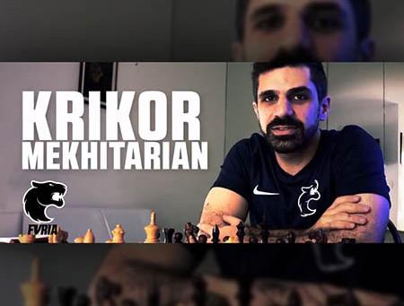 GM Krikor Mekhitarian assina com a FURIA e entra para o mundo do e-sports