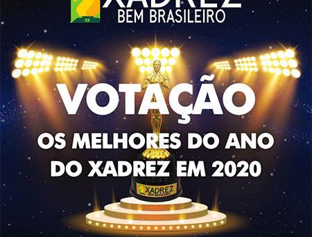Votação - Os Melhores do Ano do Xadrez em 2020 - Revista Xadrez Bem Brasileiro