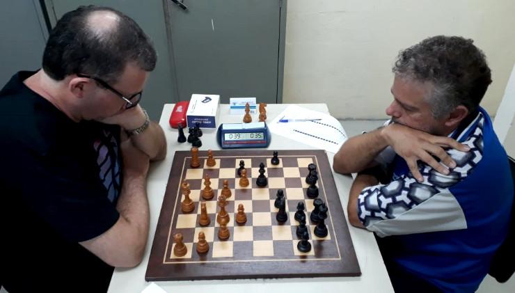 6ª rodada, mesa 1 - Eduardo Gerbelli Neto x MN Wladimir Zampronha