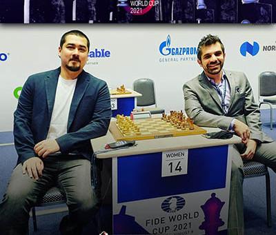 GM Fier e GM Krikor estão na segunda fase da Copa do Mundo de Xadrez!