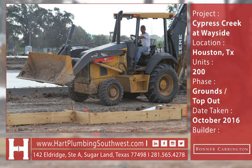 Houstonm Multifamily Plumbing : Cypress Creek At Wayside
