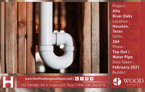 Multifamily Plumbing Project - Alta River Oaks