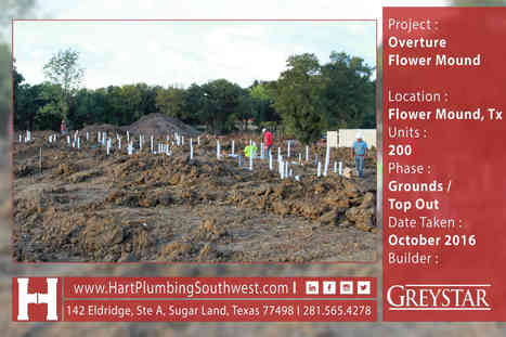 Multifamily Plumbing Project : Overture Flower Mound