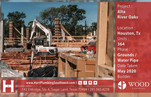Multifamily Plumbing Project - Alta River Oaks