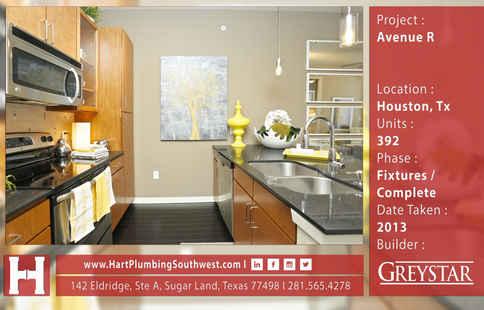 Houston Multifamily Plumbing Project : Avenue R