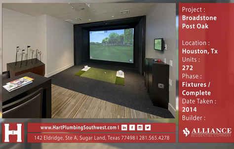 Houston Multifamily Plumbing : Broadstone Post Oak