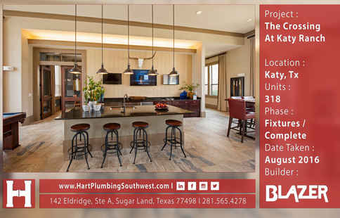 Katy Multifamily Plumbing Project : The Crossing At Katy Ranch