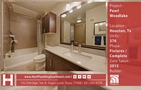 Houston Multifamily Project : Pearl Woodlake