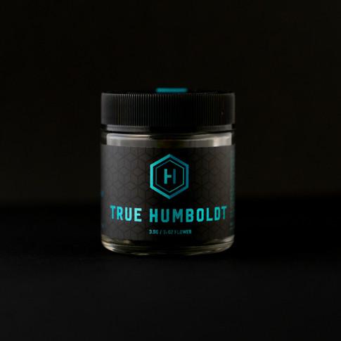 True humboldt cannabis jar