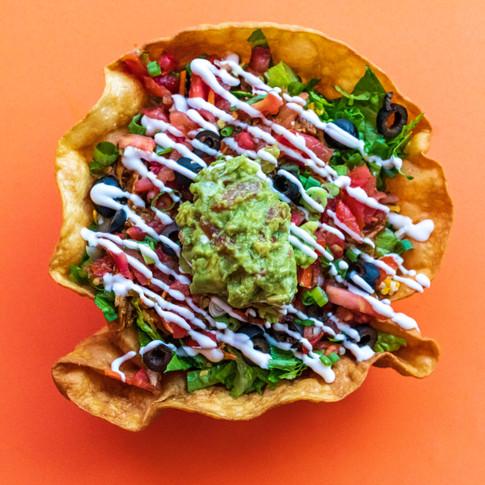 Taco Bowl from Amigas Burritos in Eureak,CA