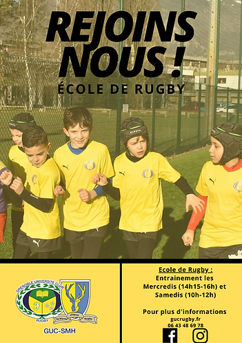 école rugby GUC