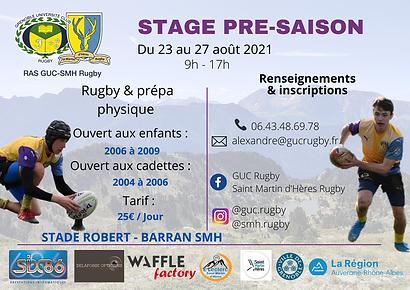 Stage Pré-saison - Affiche .png