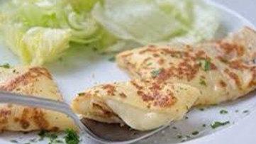 Crêpes mit Käse