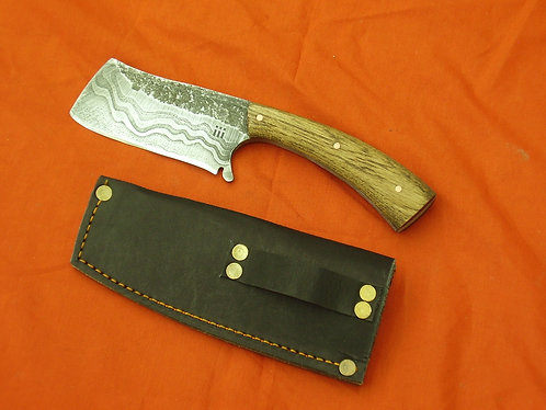 Damascus bushcraft Knife