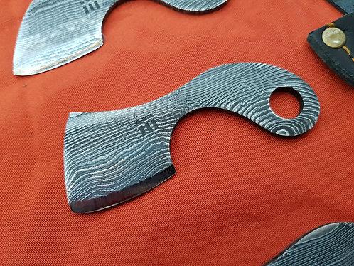 Damascus Neck Knife - no.3