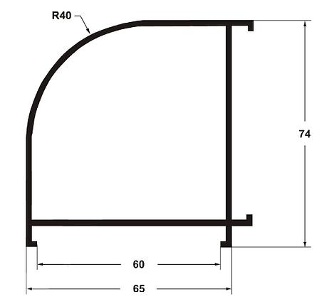 Угловой профиль 60*60 6000 мм