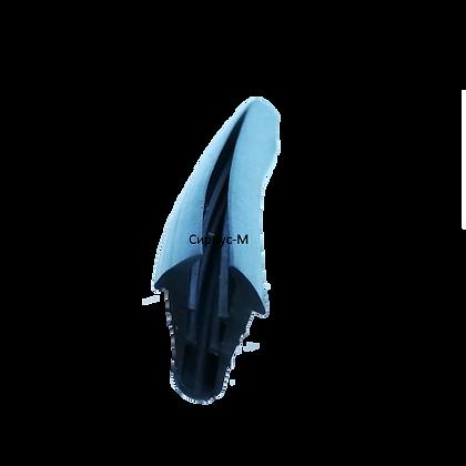 Резиновый уплотнитель для С640 под стекло 4 мм