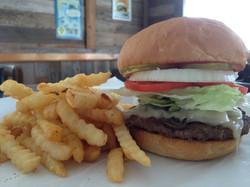1/2lb Burger with FF