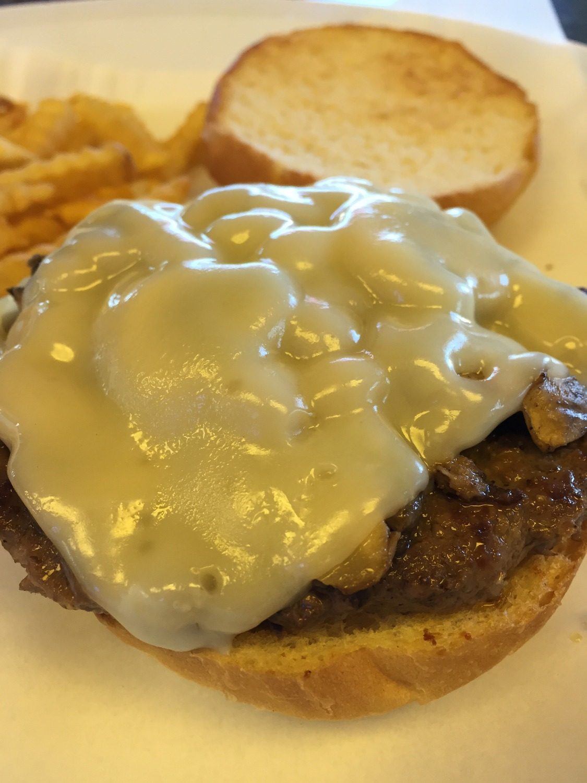 Swiss Mushroom Burger