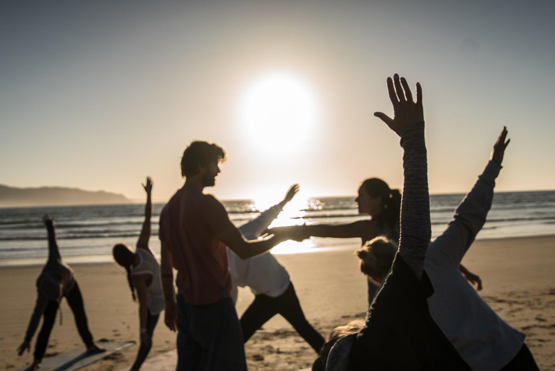 Йога Серф трип Дорога Садов ЮАР Unravel Surf Travel