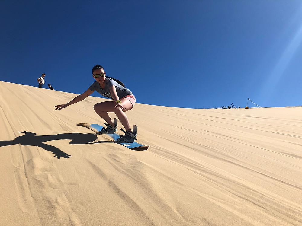 Сендбординг Серф трип Дорога Садов ЮАР Unravel Surf Travel