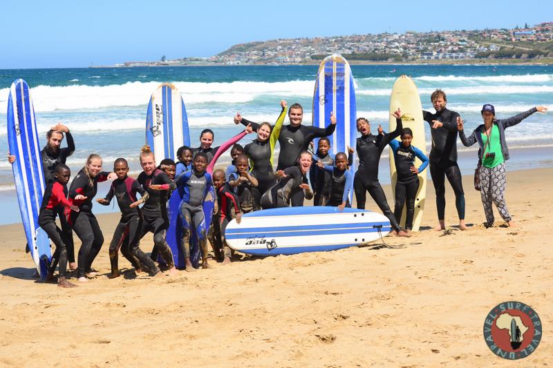 Благотворительная организация Серф трип Дорога Садов ЮАР Unravel Surf Travel