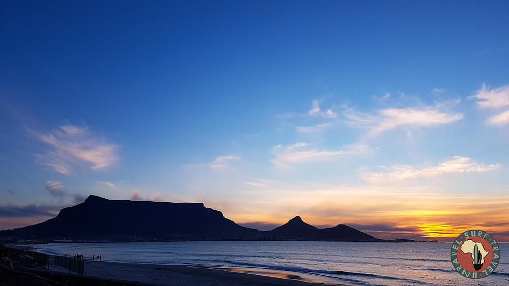 Столовая гора Серф трип Дорога Садов ЮАР Unravel Surf Travel