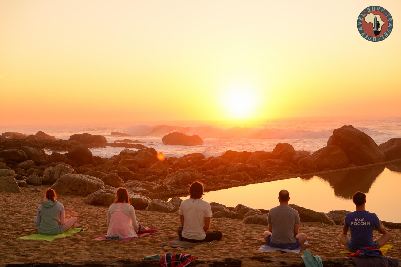 Йога Серф трип Квазулу-Натал ЮАР Unravel Surf Travel