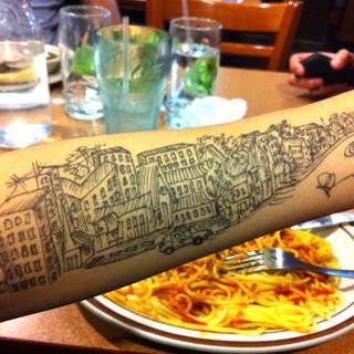 City Arm Doodle