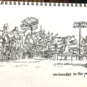 Schoolyard Sketch