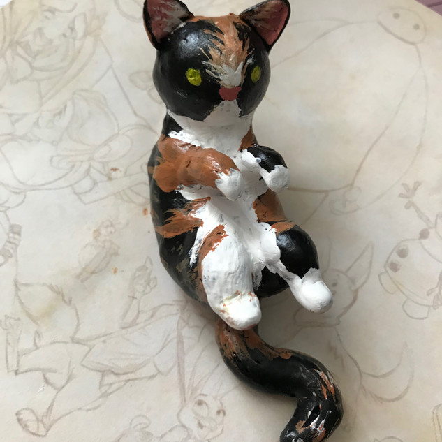 Kitty Mini Sculpture