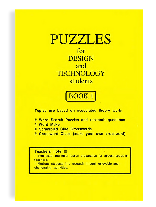 Puzzles for Design and Technology Students PDF