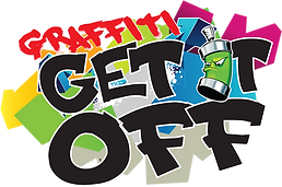 Graffiti GET IT OFF logo transparent web