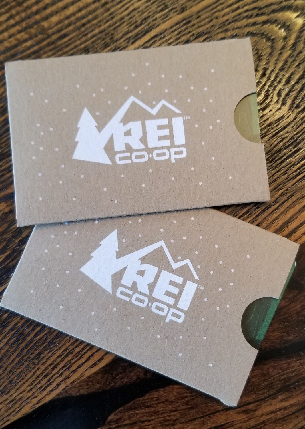 2 GRAND PRIZE WINNERS WILL RECIEVE REI GIFT CARDS
