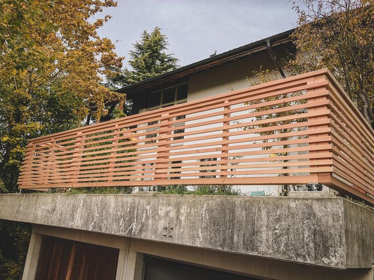 L3 Holzbau - Douglasie Zaun
