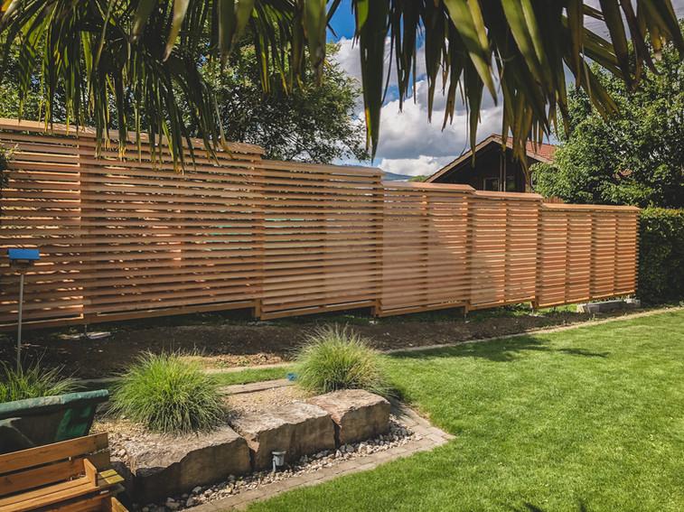 L3 Holzbau - Douglasie Sichschutz