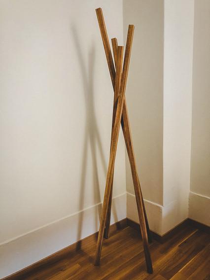 L3 Holzbau - Kleiderständer
