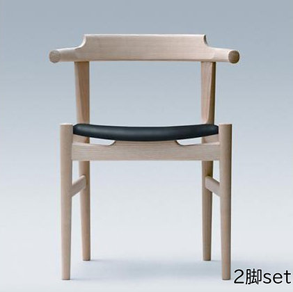 "PP Møbler ""PP58 Last Dining Chair"" Oak Soap (2脚set)"