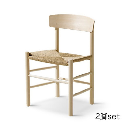 """Fredericia """"J39 Chair"""" Beech Soap (2脚set)"""