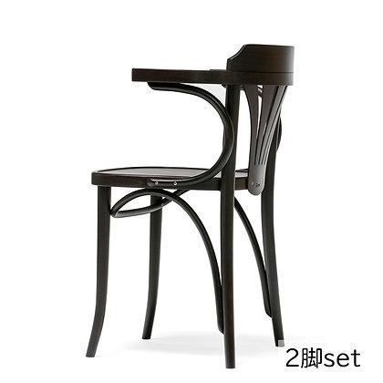 "TON ""armchair 24"" (321 024) Coffee (2脚set)"
