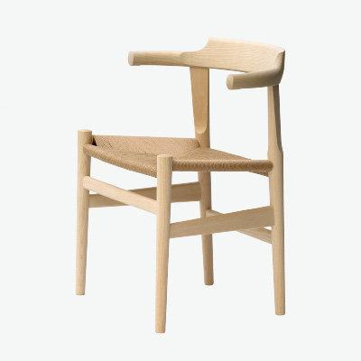 "PP Møbler ""PP68 Last Dining Chair"" Beech Soap"