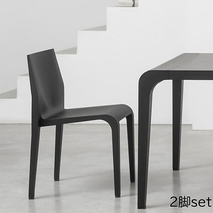 "Alias ""laleggera chair 301"" black stained (2脚set)"