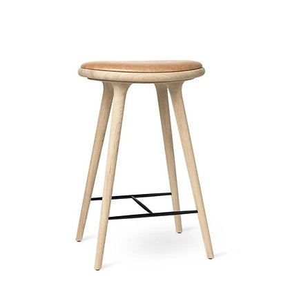 "mater ""High Stool"" Soaped oak 69 cm"