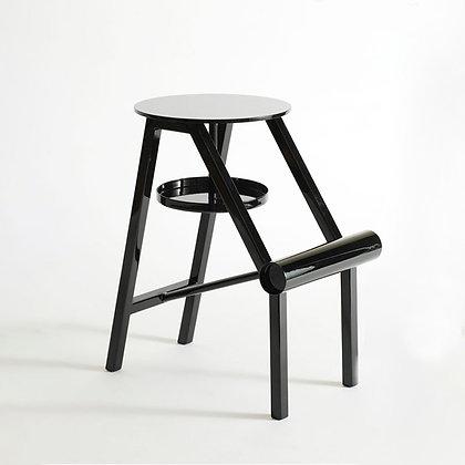 "OPINION CIATTI ""Shoe stool"" glossy black"